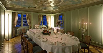 Private dinner in historic rooms