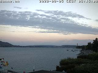 Webcam Romantik Seehotel Sonne at lake Zurich